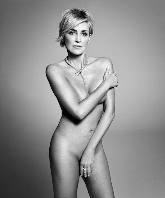Sharon Stone Undressed Totally Naked The Age Of