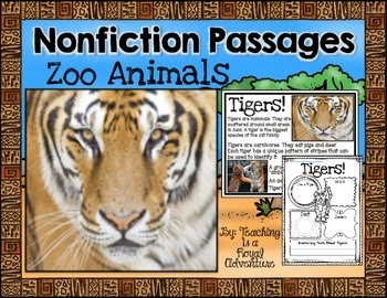 https://www.teacherspayteachers.com/Product/Zoo-Animals-Nonfiction-Passages-1198281