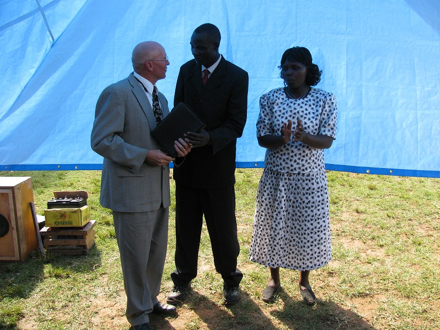 Much of this weeku0027s activities included making a new tent and pews for the work in Lake Victoria. Purchasing steel cutting fabrication painting and ... & Missionaries Fernandez: Tent Making and Ordination