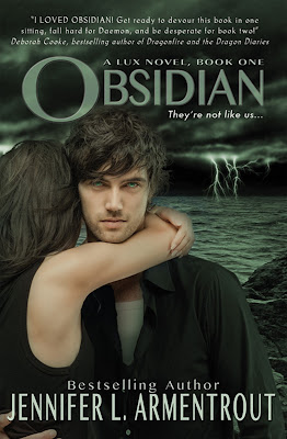 Obsidian Book Cover by Jennifer L Armentrout