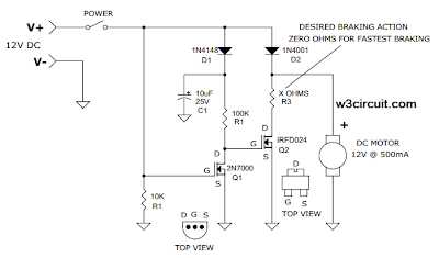 Motor Circuit Diagram