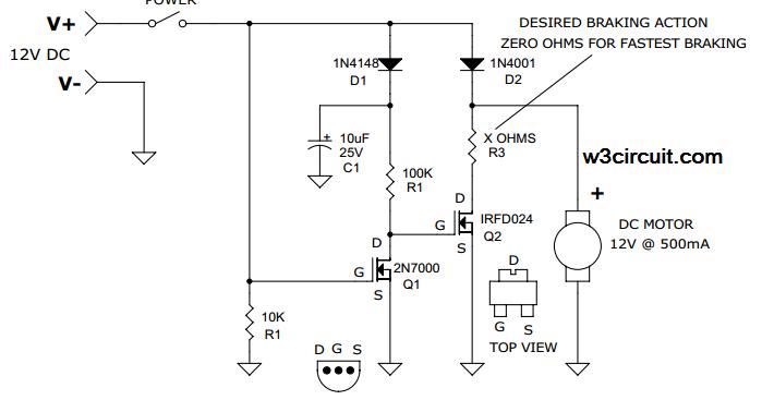 auto dc motor brake circuit diagramAuto Dc Motor Brake Circuit Diagram #3