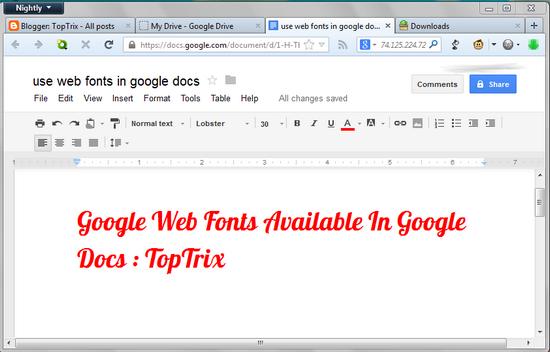 google-web-fonts-google