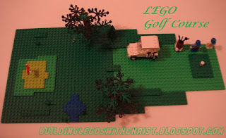 LEGO Golf Course Creation, Cool Creations