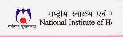 Jobs in NIHFW,Nov-2014 Download Application Form