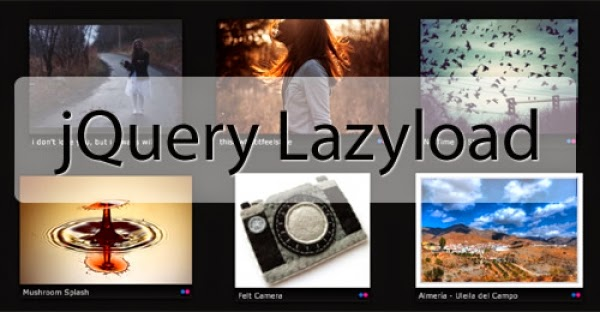 Lazy load images - Lazy Load poner en blog de blogger