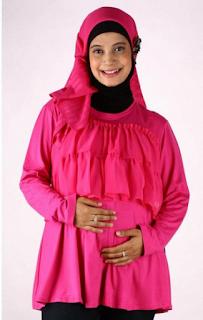 Baju Hamil Modis Muslimah