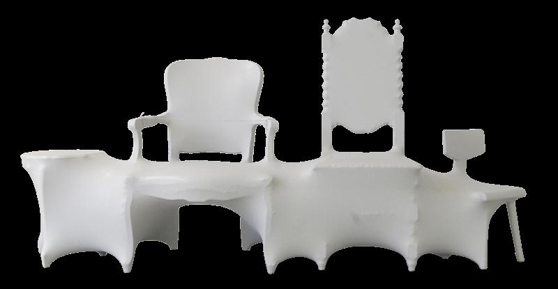 The scroll chair by xu gongwei