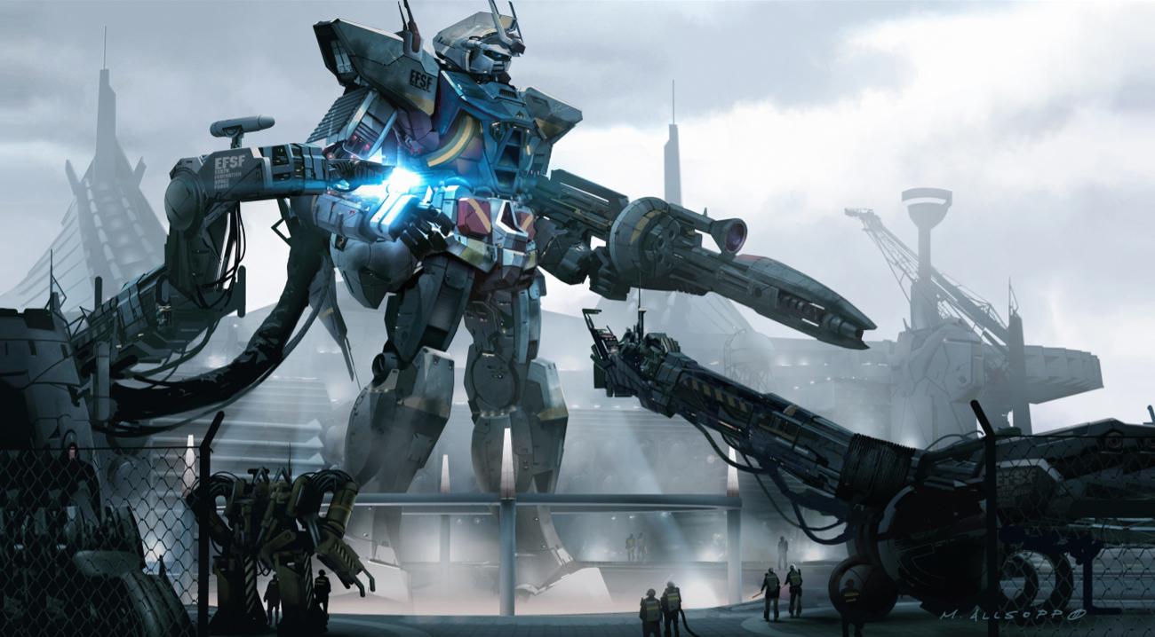 Matt Allsopp Concept Artist Mobile Suit Gundam
