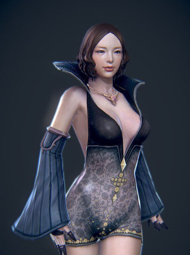 Love Tera Life Online Player Made Tera 3d Female Characters
