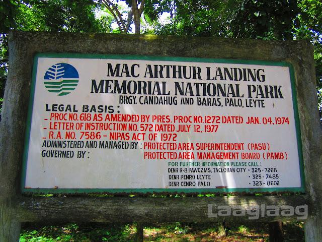 McArthur Landing Memorial National Park Tacloban City