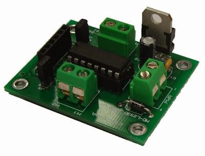 PCB driver motor L293