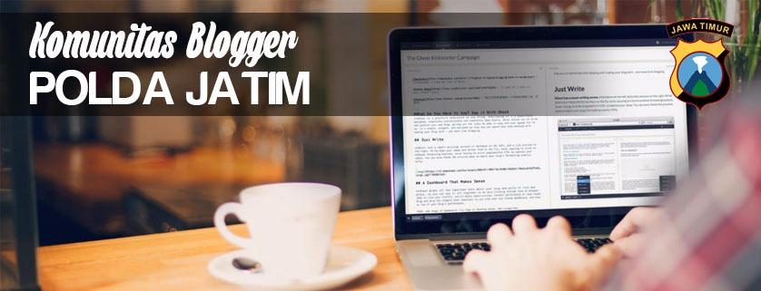 Danang Blogger Polda Jatim