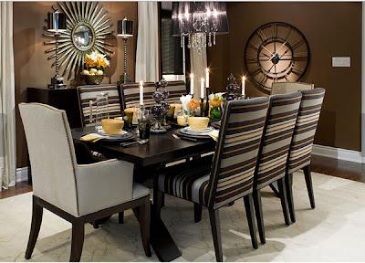 decoración comedor moderno elegante