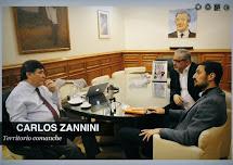 CARLOS ZANNINI EN TERRITORIO COMANCHE