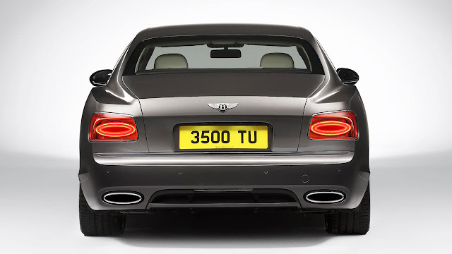 The All-New Bentley Flying Spur rear