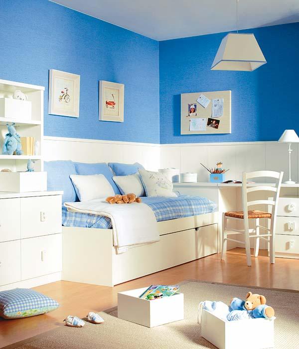 Erase una vez mi vida junio 2012 - Dormitorio infantil blanco ...