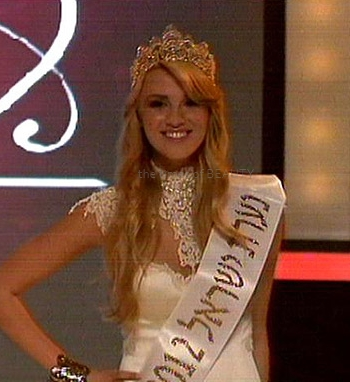 miss israel 2012 winner lina machola