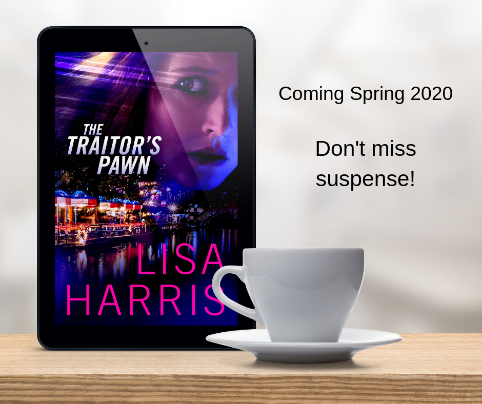 Brand new romantic suspense!