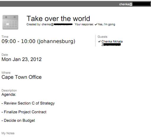 chenka nkhata app use google calendar for your meeting agendas