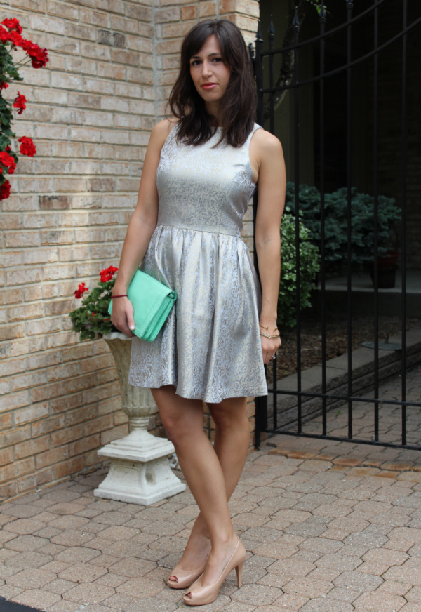 bridal shower dress, anthropologie sunday dress