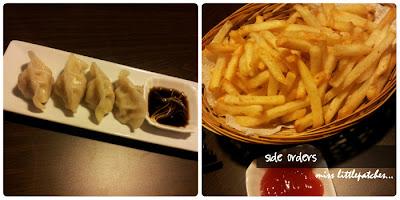 Dumpling and Fries