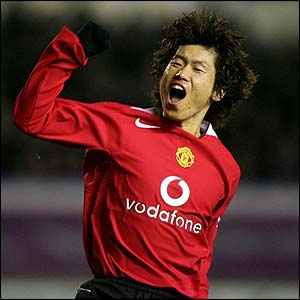 Park Ji Sung from south korea