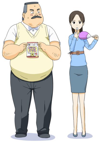 Anime Pendek 'Ojisan to Marshmallow' Pamerkan Visual Baru