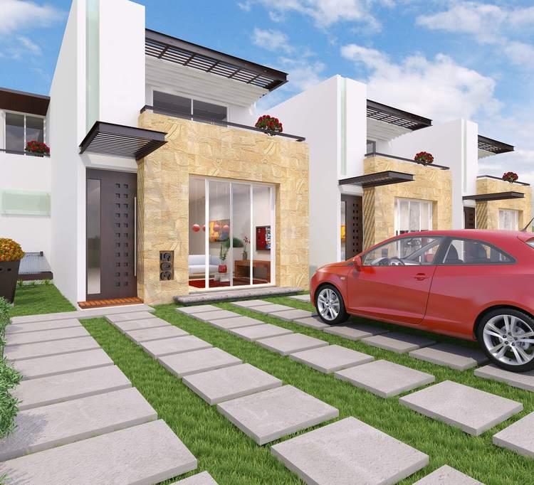 Casas en Venta y Departamentos: Casa Muestra modelo Verano en la ...