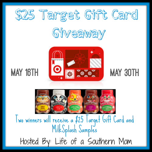 MilkSplash & Target Gift Card Giveaway