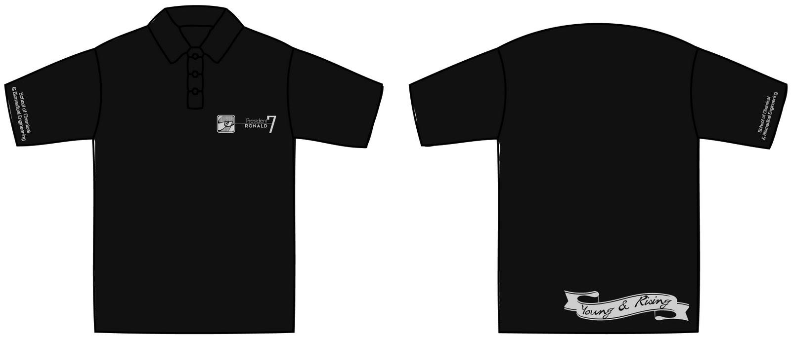 Scbe publicity blog maincomm polo shirt part 2 re for Two color shirt design
