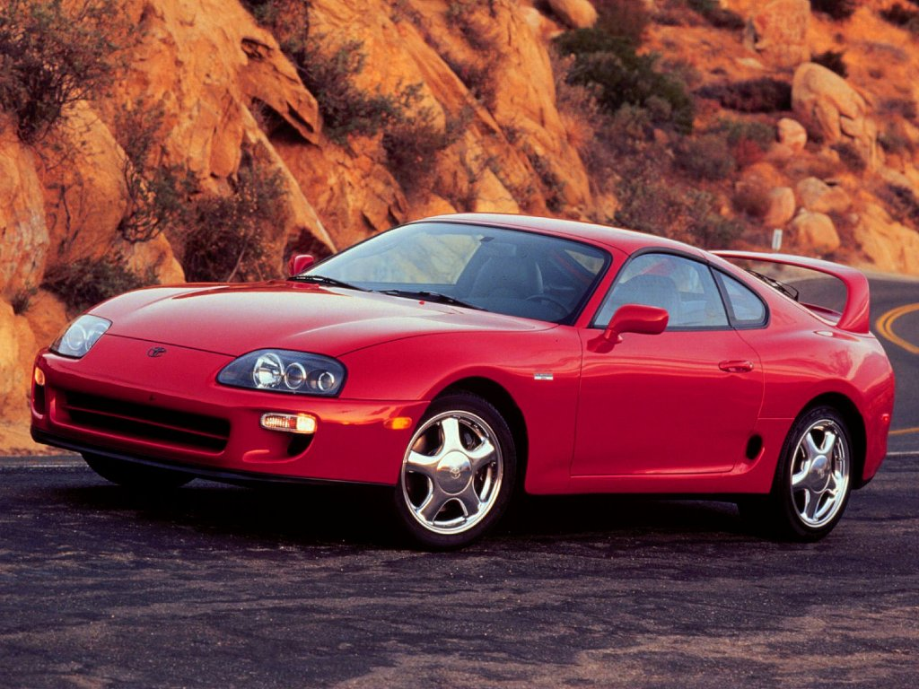 Cars Wallpaper Toyota Supra Stock
