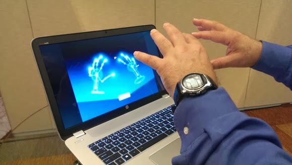 HP Envy 17 Laptop With Leap Motion Built
