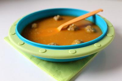 Zupa marchewkowa z pulpecikami