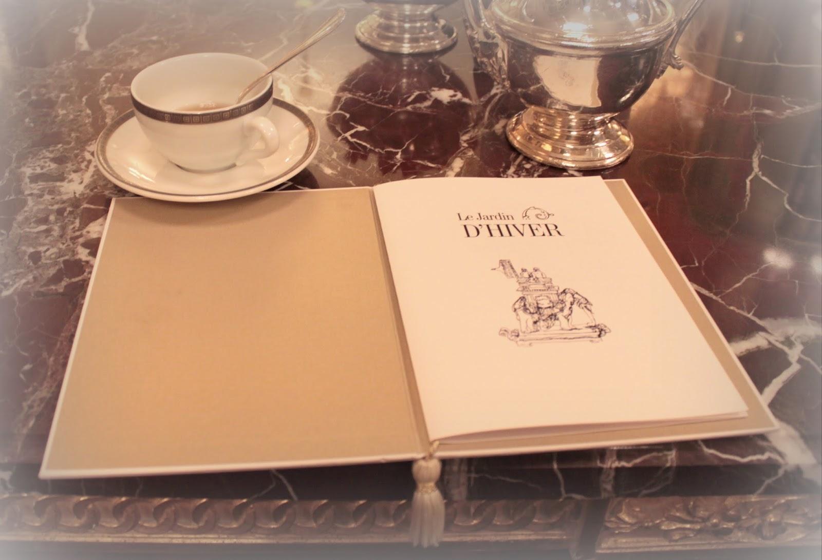 Reservation tea time at jardin d 39 hiver for Jardin d hiver