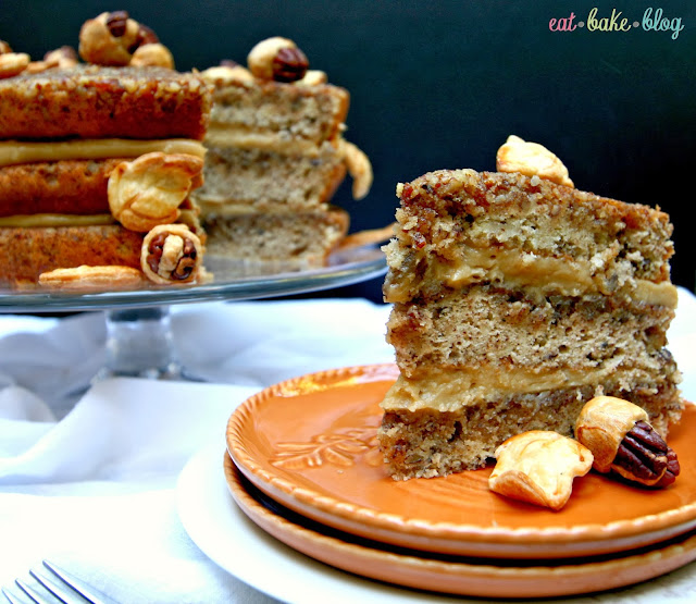 pecan pie recipe pecan pie cake pecan cake recipe pretty thanksgiving cake