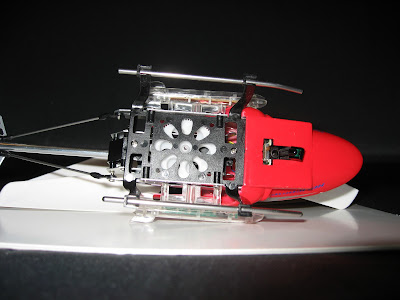 радиоуправляемый вертолет GYRO-127 вид снизу