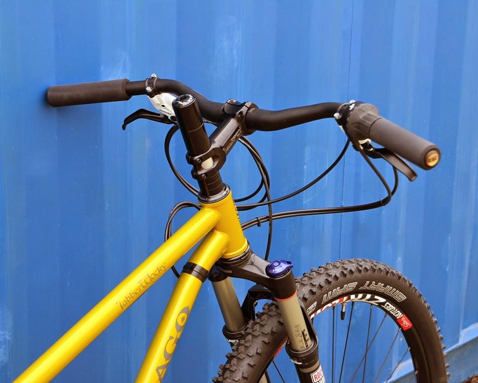 The Monkey Lab: Vassago Jabberwocky Mountain Bike with Rohloff SPEEDHUB