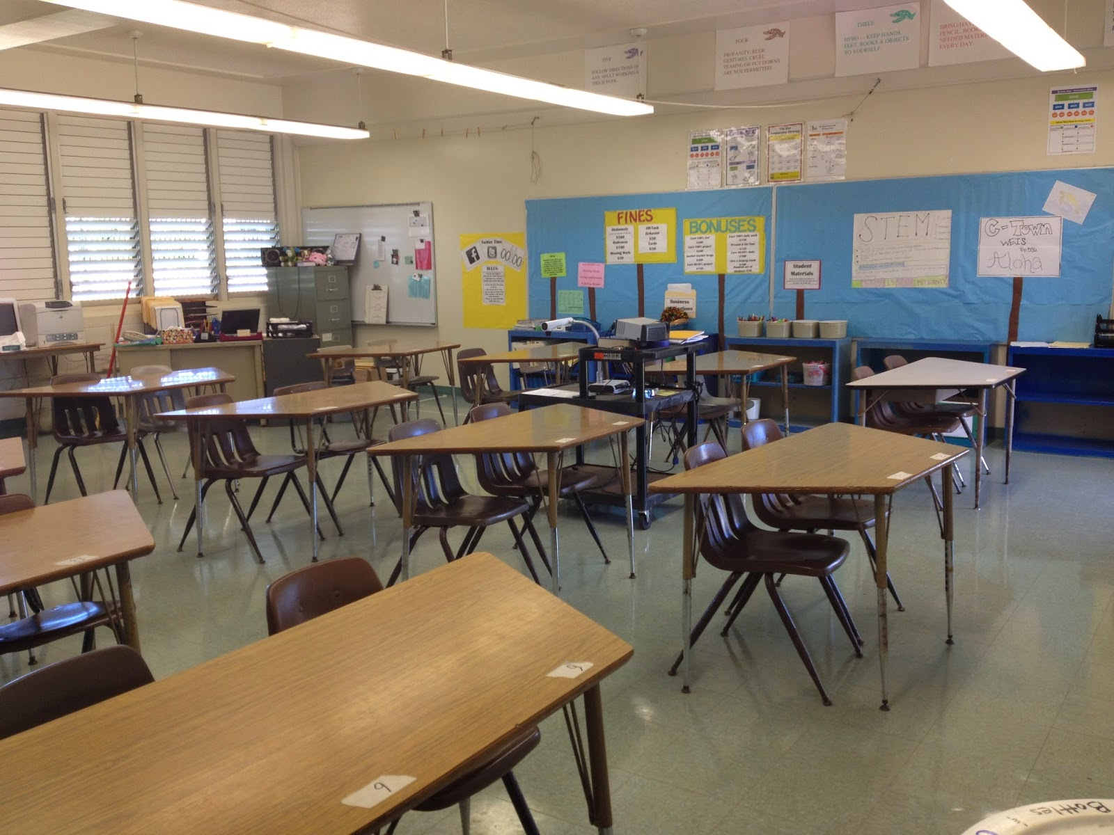Modern Middle School Classroom ~ The secrets of a middle school teacher new year