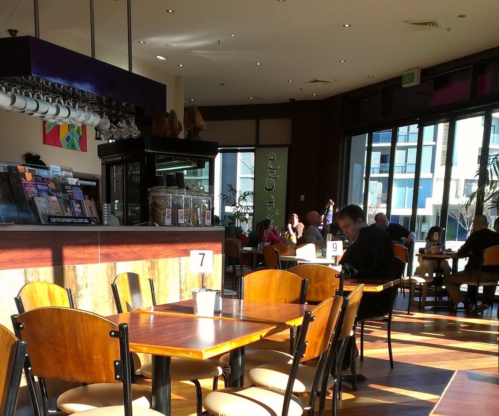 Central Cafe Gungahlin Menu