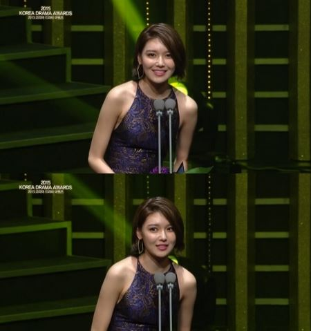 SNSD SooYoung 2015 Korea Drama Awards