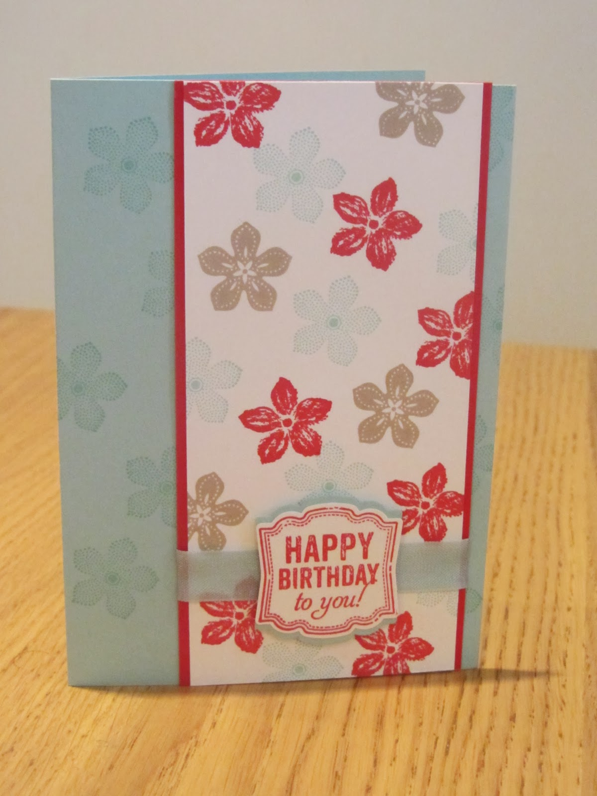 stampin up card in a box instructions