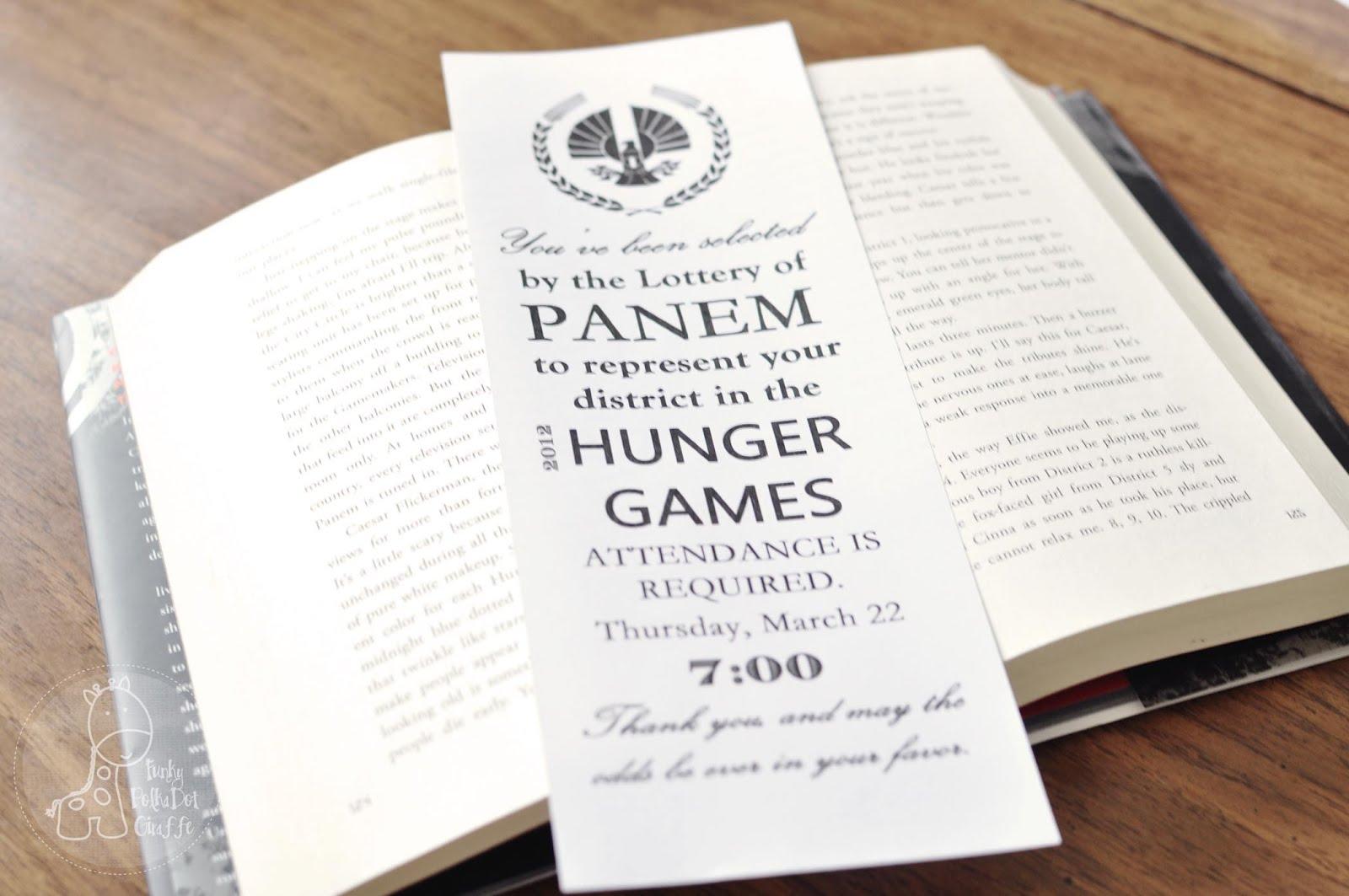 Hunger Games Party Ideas and Printables - Rae Gun Ramblings