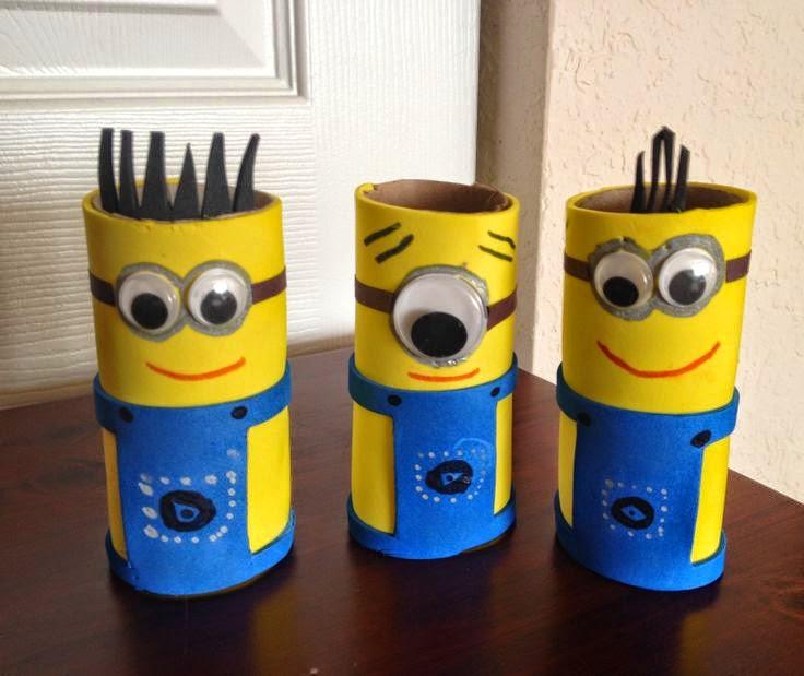 Enfeites feitos com reciclagem para festas infantis