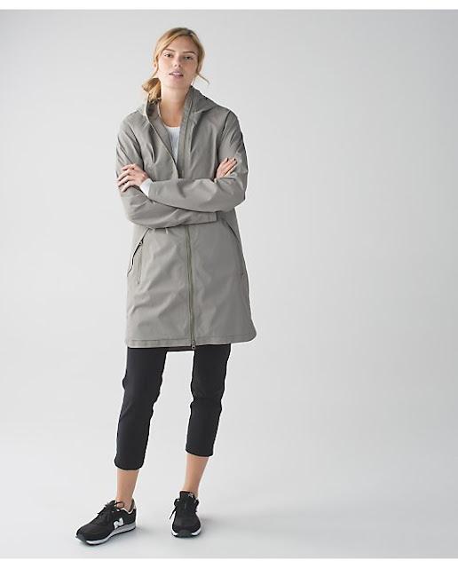 lululemon definitely-raining-jacket soft-earth