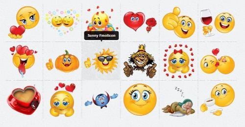emojis no Facebook
