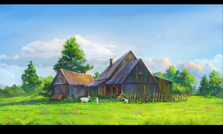 Farmhouse and Garden Farm_manga_anime_desktop_1500x903_wallpaper-1114445