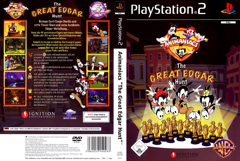 animaniacs the great edgar hunt