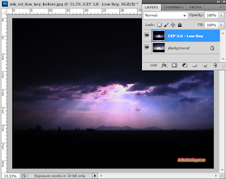 cara membuat ROL ray of light foto