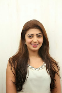 Actress Pranitha Pictures in White Dress at Homeo Trend Super Speciality Hospital Launch 0001
